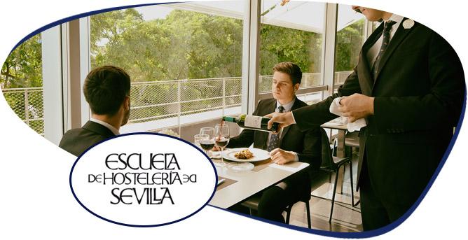 Diplomatura Técnico Especialista en Servicios de Restauración y Sumillería - ¿A quién va dirigido? - Escuela Superior de Hostelería de Sevilla